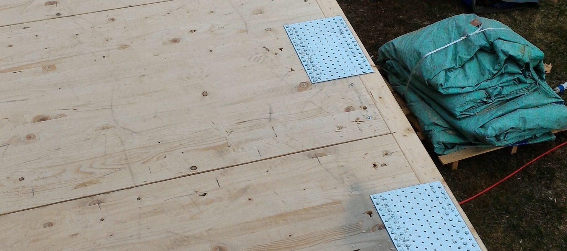ampliamento legno Visome Belluno