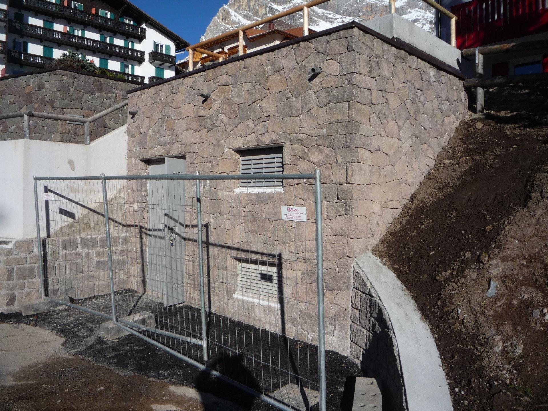 costruzione cabina elettrica