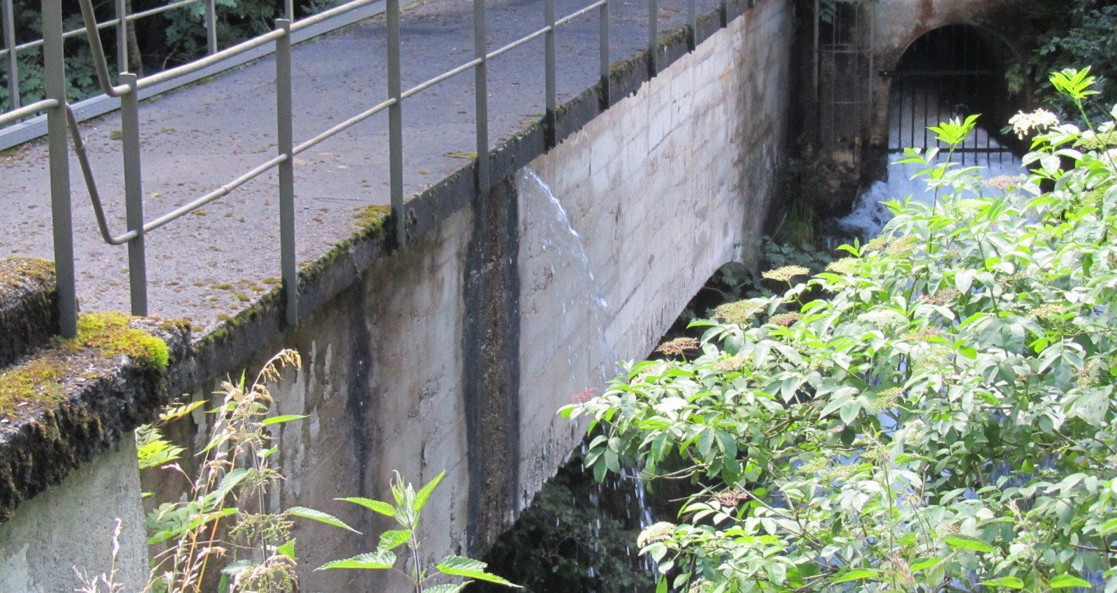consolidamento ponte canale rio lozen