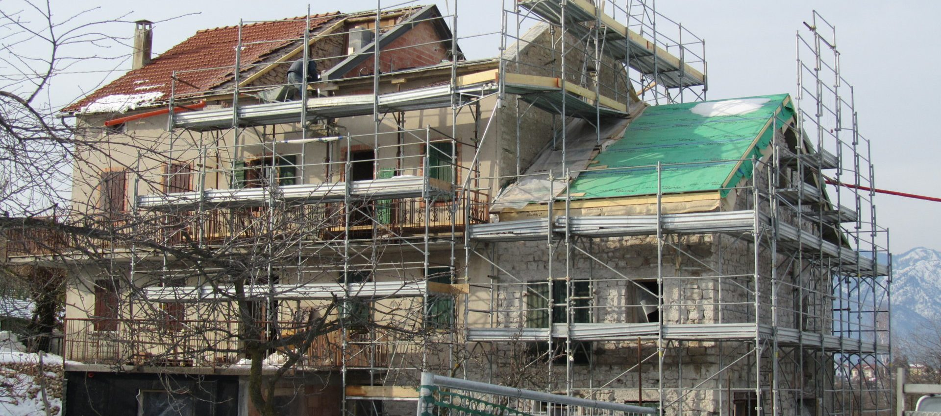 Miglioramento sismico ristrutturazione Belluno