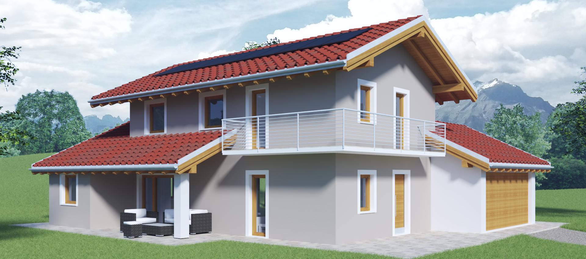 Edificio in muratura standard passivhaus